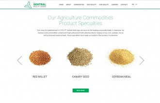 web-design-semarang-for-agriculture-company - Web design surabaya