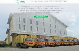 web-design-solo-for-agriculture-company - Web design surabaya
