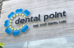 dental-point-surabaya-letter-timbul-3d-acrylic - Web design surabaya