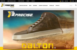 precise-shoes - Web design surabaya