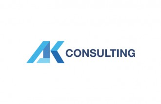 logo-design-for-ak-consulting - Web design surabaya