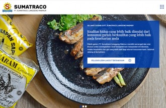 pt-sumatraco - Web design surabaya